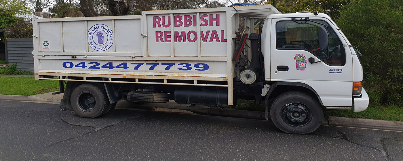 Building site rubbish removal
